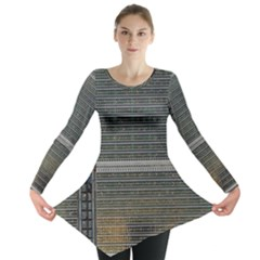 Building Pattern Long Sleeve Tunic
