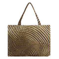 Brushed Gold Medium Tote Bag