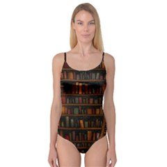 Books Library Camisole Leotard