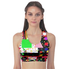 Colorful facroty Sports Bra