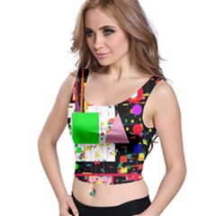 Colorful facroty Crop Top