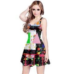 Colorful facroty Reversible Sleeveless Dress