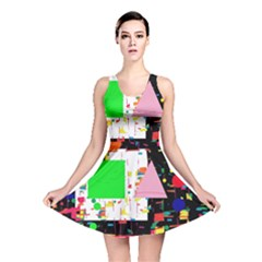 Colorful facroty Reversible Skater Dress