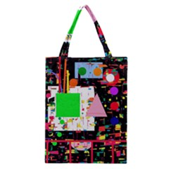 Colorful facroty Classic Tote Bag