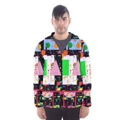 Colorful facroty Hooded Wind Breaker (Men)