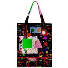 Colorful facroty Zipper Classic Tote Bag
