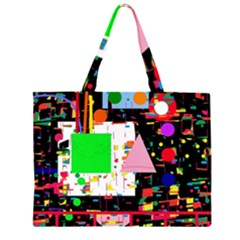 Colorful facroty Large Tote Bag
