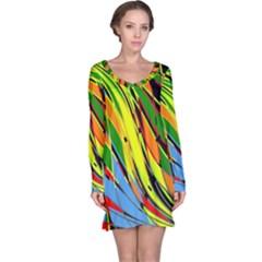 Jungle Long Sleeve Nightdress