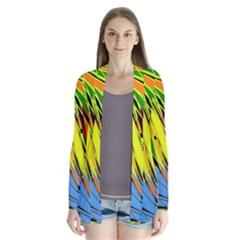 Jungle Drape Collar Cardigan