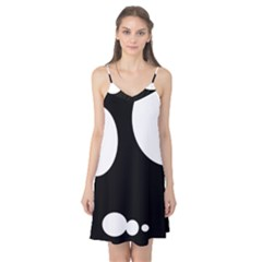 Black and white moonlight Camis Nightgown