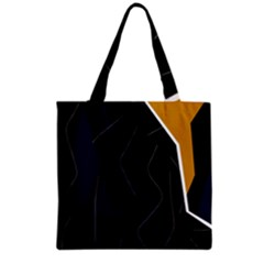 Digital abstraction Grocery Tote Bag