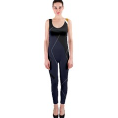 Digital abstraction OnePiece Catsuit
