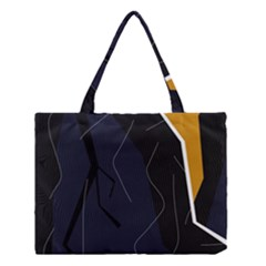 Digital abstraction Medium Tote Bag