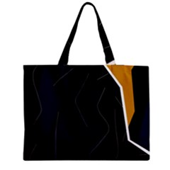 Digital abstraction Medium Zipper Tote Bag