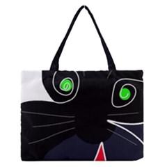 Big Cat Medium Zipper Tote Bag