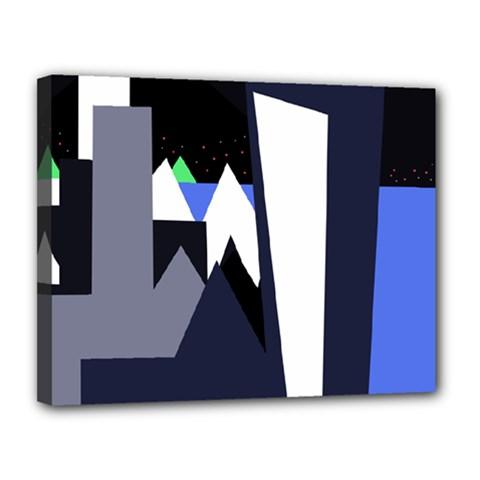 Glacier Canvas 14  x 11