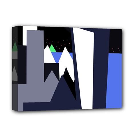 Glacier Deluxe Canvas 16  x 12