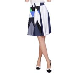 Glacier A-Line Skirt