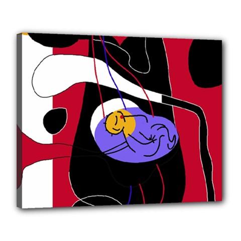 Love Canvas 20  x 16