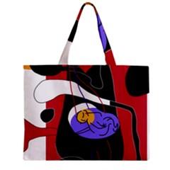 Love Zipper Mini Tote Bag