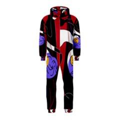Love Hooded Jumpsuit (Kids)