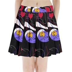 Love Pleated Mini Skirt