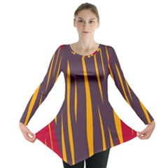 Fire Long Sleeve Tunic