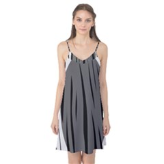 Gray, black and white design Camis Nightgown
