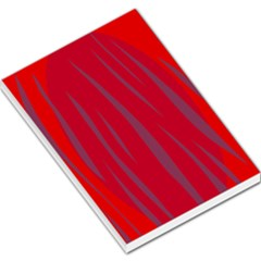 Hot lava Large Memo Pads