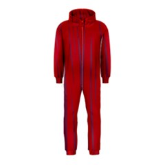 Hot lava Hooded Jumpsuit (Kids)