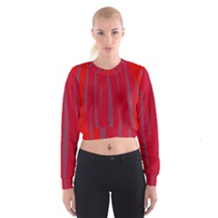Hot lava Women s Cropped Sweatshirt