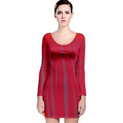 Hot lava Long Sleeve Velvet Bodycon Dress