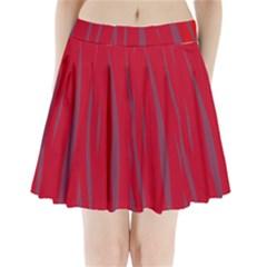 Hot lava Pleated Mini Skirt