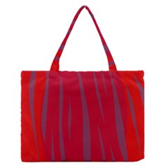Hot Lava Medium Zipper Tote Bag