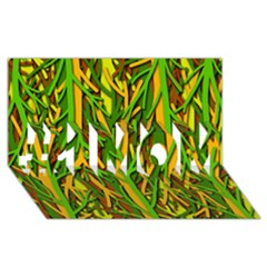 Upside-down forest #1 MOM 3D Greeting Cards (8x4)