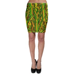 Upside-down forest Bodycon Skirt
