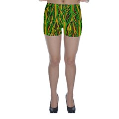 Upside-down forest Skinny Shorts