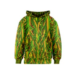 Upside-down forest Kids  Pullover Hoodie