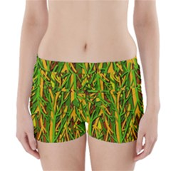 Upside-down forest Boyleg Bikini Wrap Bottoms