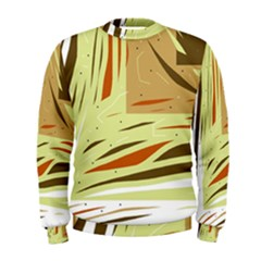 Brown decorative design Men s Sweatshirt