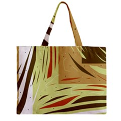 Brown decorative design Medium Tote Bag