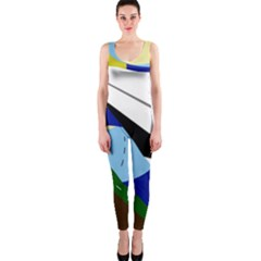 Paper airplane OnePiece Catsuit