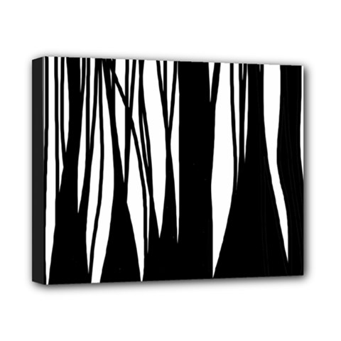 Black forest Canvas 10  x 8