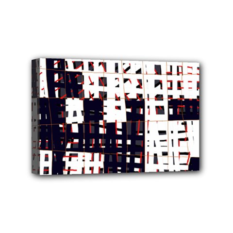 Abstract city landscape Mini Canvas 6  x 4