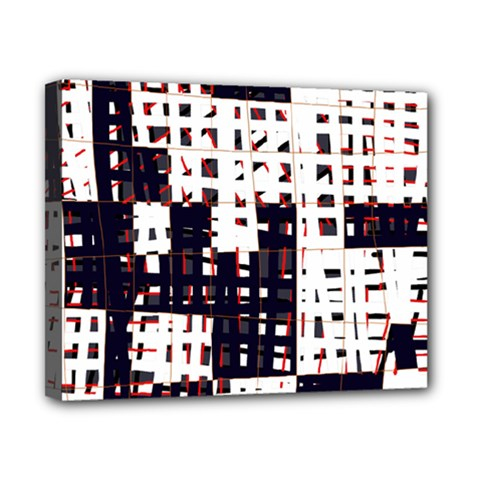 Abstract city landscape Canvas 10  x 8