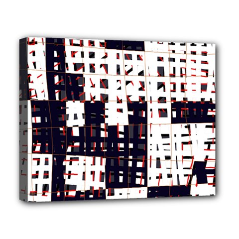Abstract city landscape Deluxe Canvas 20  x 16