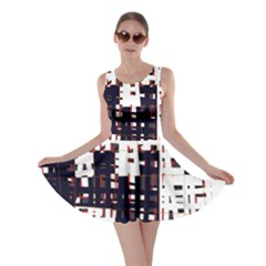 Abstract city landscape Skater Dress