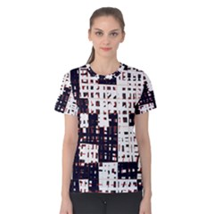 Abstract city landscape Women s Cotton Tee