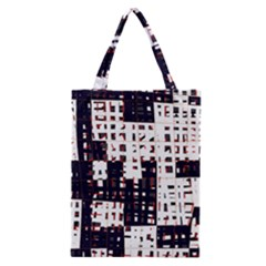 Abstract city landscape Classic Tote Bag