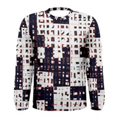 Abstract city landscape Men s Long Sleeve Tee